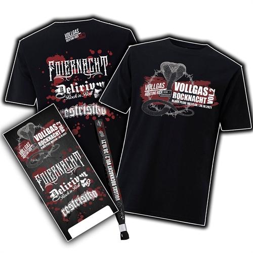 Vollgas Rocknacht - Shirt Bundle