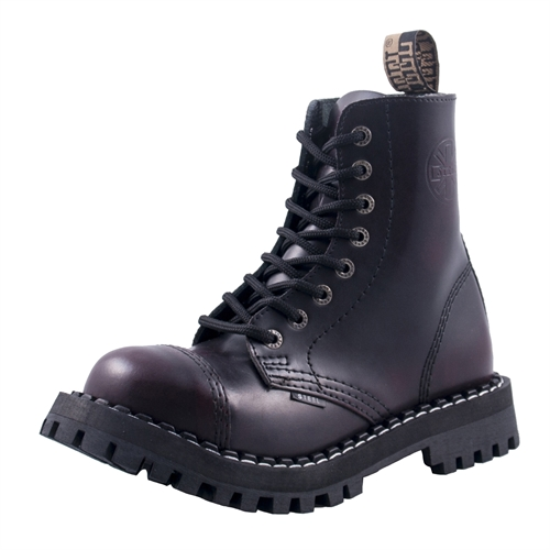 Steel - Rub Off, 8-Loch Boots