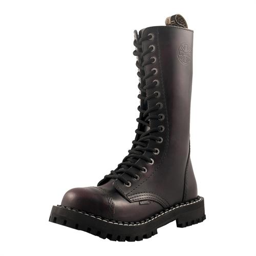 Steel - Rub Off, 15-Loch Boots