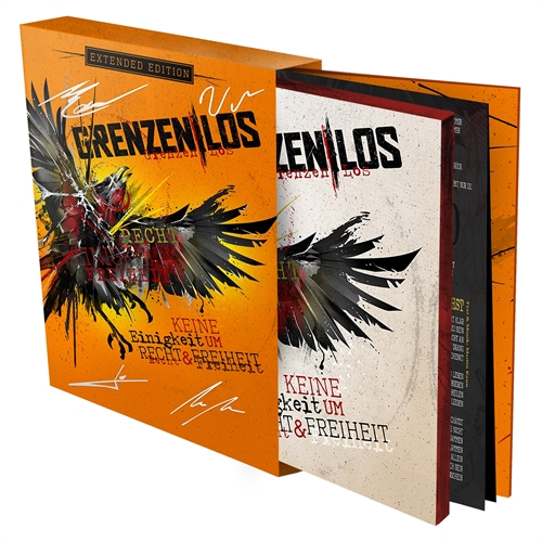 Grenzen|Los - Keine Einigkeit um Recht&Freiheit (ltd. + signed) Extended Edition