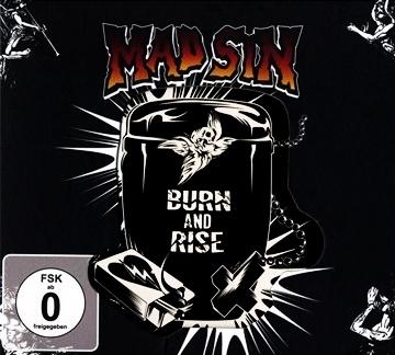 Mad Sin - Burn and Rise Box