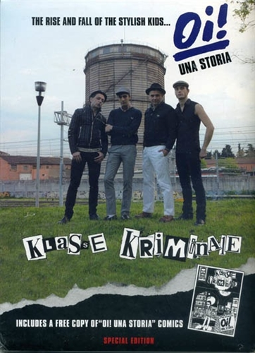Klasse Kriminale - The rise and fall of the stylish kids, CD + Comic