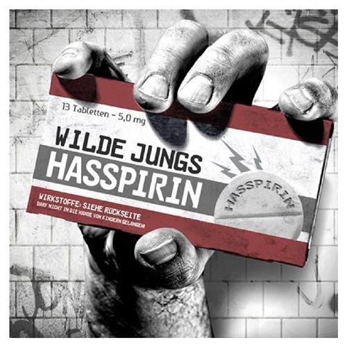 Wilde Jungs - Hasspirin, CD