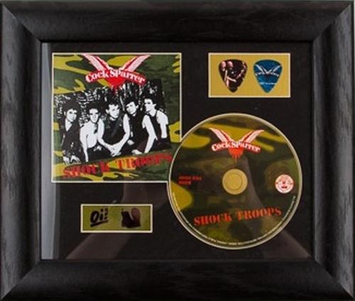 Cock Sparrer – Shock Troops, CD
