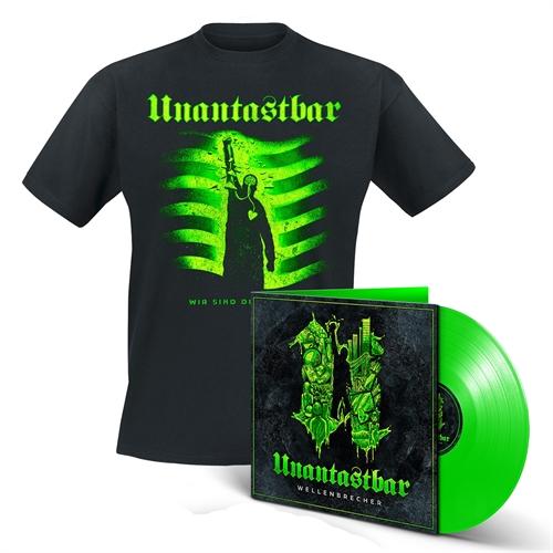 Unantastbar - Wellenbrecher Bundle, T-Shirt + LP