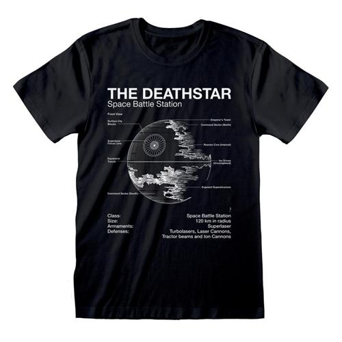 Star Wars - Death Star Sketch, T-Shirt