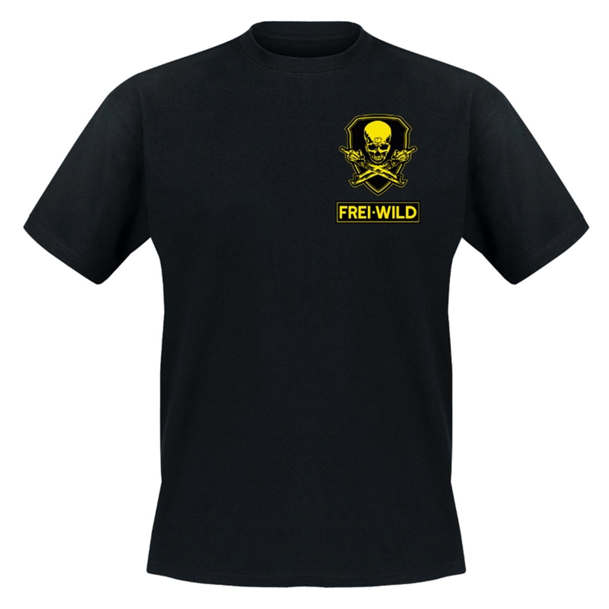 Freiwild Rr Antiwillkommen T Shirt Halt Deine Schnauze Mailorder