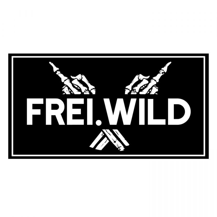 Freiwild Rr Freiwild Bone Hands Patch Halt Deine Schnauze