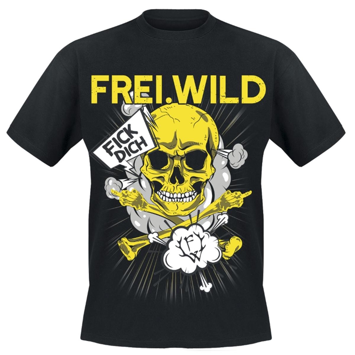 Freiwild Fick Dich Und Verpiss Dich T Shirt Halt Deine