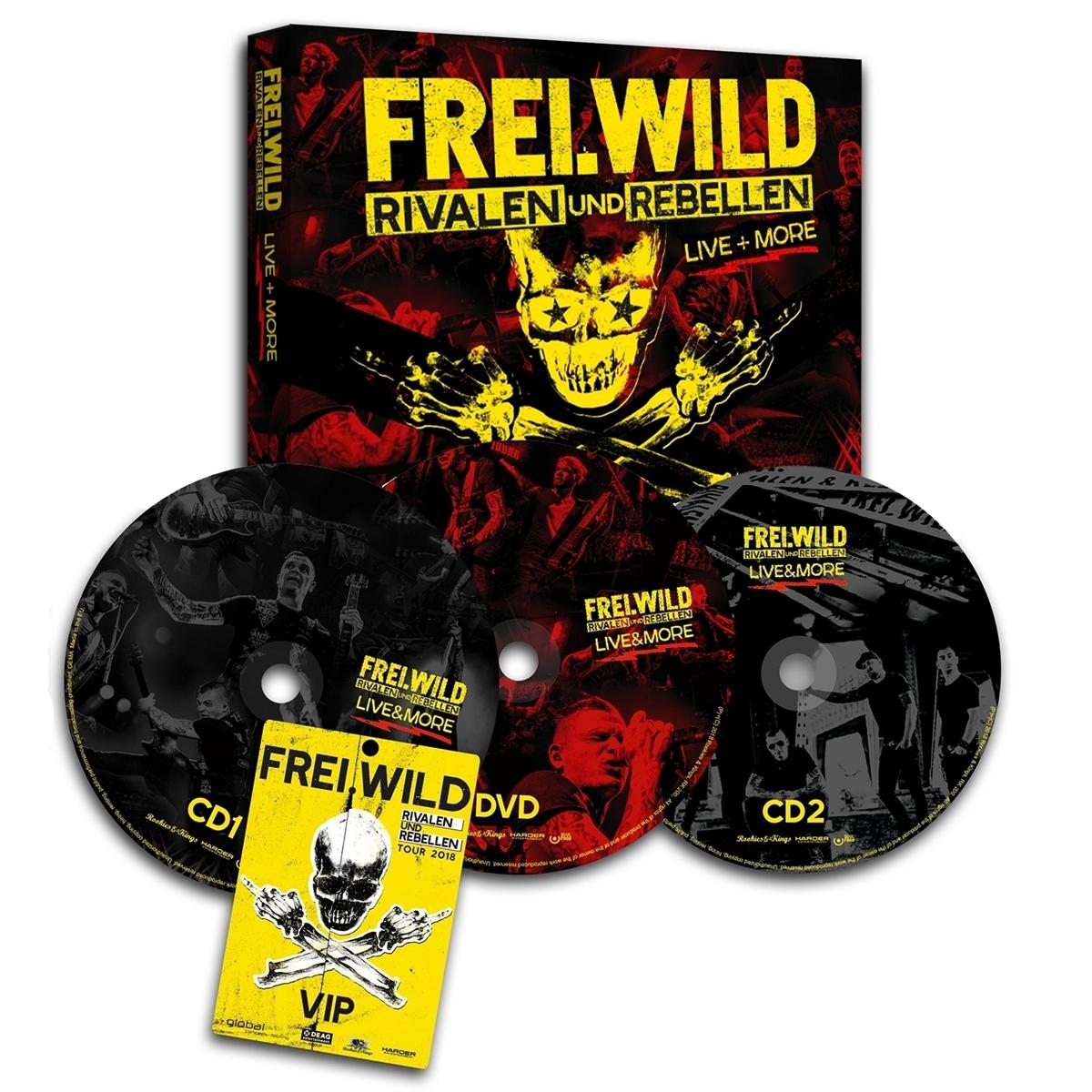 Freiwild Rivalen Und Rebellen Livemore Ltd Edition Halt