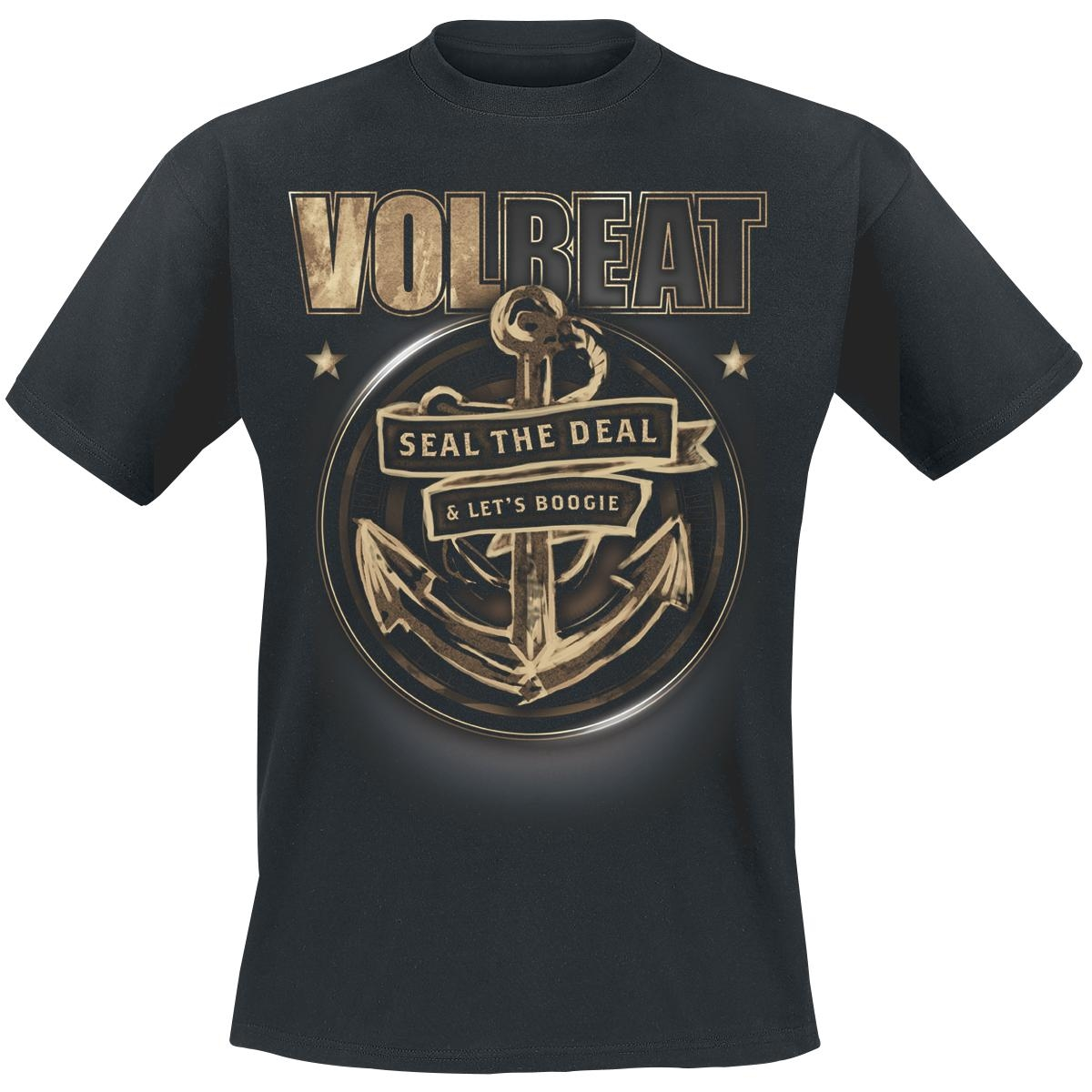 volbeat anchor t shirt halt deine schnauze mailorder. Black Bedroom Furniture Sets. Home Design Ideas