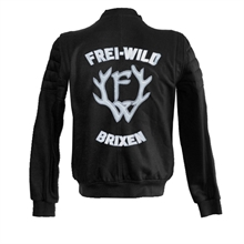 Frei.Wild - B&W Double Layer, Girl-Sweatjacke