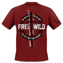 Frei.Wild - Frei von Verrat, T-Shirt (rot)