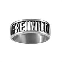 Frei.Wild - FREI Edelstahl/Silber Ring