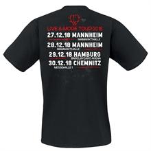 Frei.Wild - LIVE&MORE, Tour T-Shirt (ws/rt)