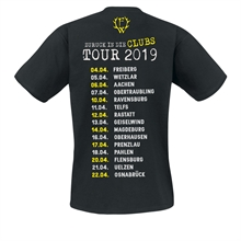 Frei.Wild - Zurück in die Clubs Tour 2019, T-Shirt