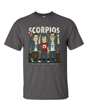 Scorpios - Raise A Glass, T-Shirt