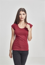 Urban Classics - cutted Back Tee, Girl-Shirt