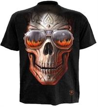 Spiral - Hellfire Skull, T-Shirt