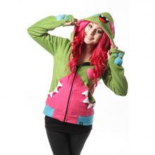 Cupcake Cult - Smiler Hood, Fleece-Jacke