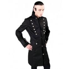 Aderlass - Admiral Coat Denim, Mantel