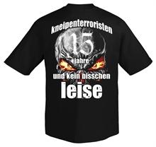 Kneipenterroristen - 15 Jahre, T-Shirt
