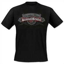 KrawallBrüder - Ein Wahrer Freund, T-Shirt Schwarz