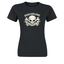 Discipline - Nice Boys Finished Last, Girl-Shirt