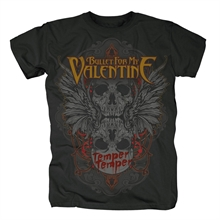 Bullet For My Valentine - Winged Skull, T-Shirt