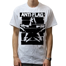 Anti Flag - Duct Tape Gun Star, T-Shirt