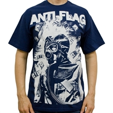 Anti Flag - Gasmask, T-Shirt
