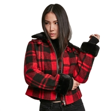 Urban Classics - Ladies Plaid, Jacke