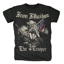 Iron Maiden - Sketched Trooper, T-Shirt