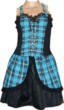 Punk -Tartan, Mini Dress