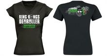 King Kongs Deoroller - Support Club, Girl V-Neck