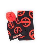 Deadpool - Symbol Beanie & Scarf Gift Set