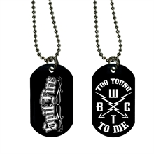SpitFire - To Young To Die, DogTag-Kette