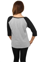 Urban Classics - 3/4 Contrast Raglan, Girl-Sweater