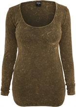 Urban Classics - Stoned L/S Tee, Girl-Long-Sweater