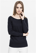 Urban Classics - Girl-Boatneck-Sweater