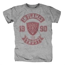 In Flames - We Trust College T-Shirt