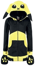 Cupcake Cult - Lightning Hood, Fleece-Jacke