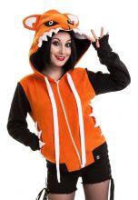 Cupcake Cult - Foxy Hood, Fleece-Jacke