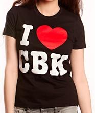 Comeback Kid - I Heart CBK, Girl Shirt