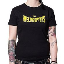 Hellacopters - Flame Logo Girl-Shirt