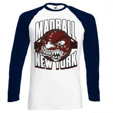 Madball - Red Ball, Baseball Longsleeve