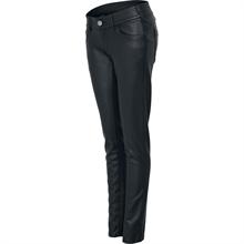 Urban Classics - Ladies Leather Pants, Girl-Hose