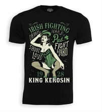 King Kerosin - Irish Fighting, T-Shirt