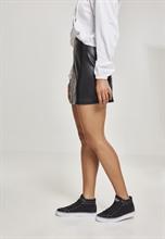 Urban Classics - Ladies Faux Leather Skirt, Rock