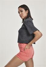 Urban Classics -Ladies Short Oversized AOP Tee